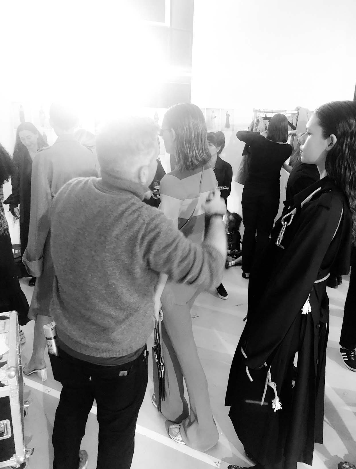 Behind Paris Fashion Week ROKH SS20 with Team Studio Cim Mahony