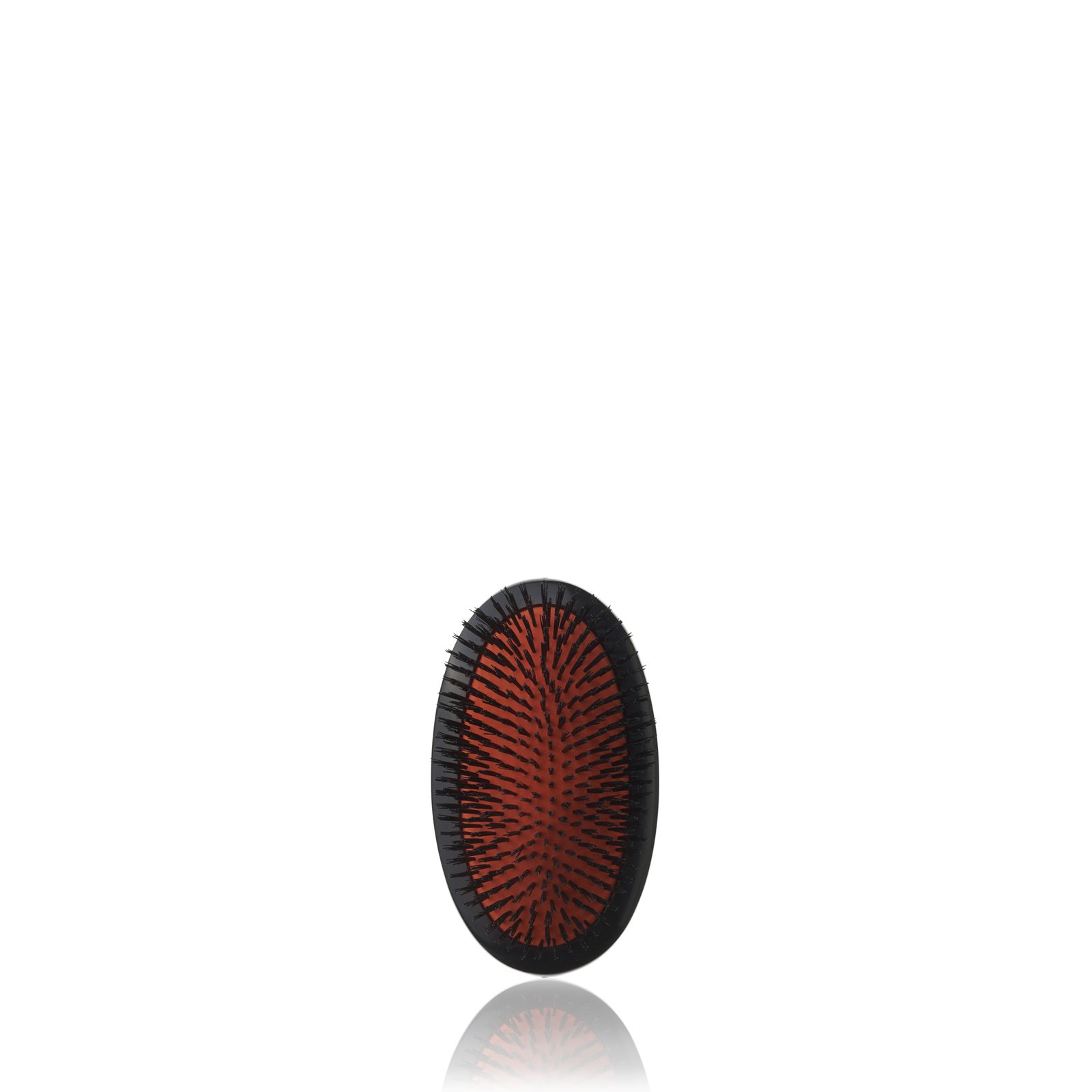 B2M Small Extra Military Hairbrush from Mason Pearson (Dark ruby)