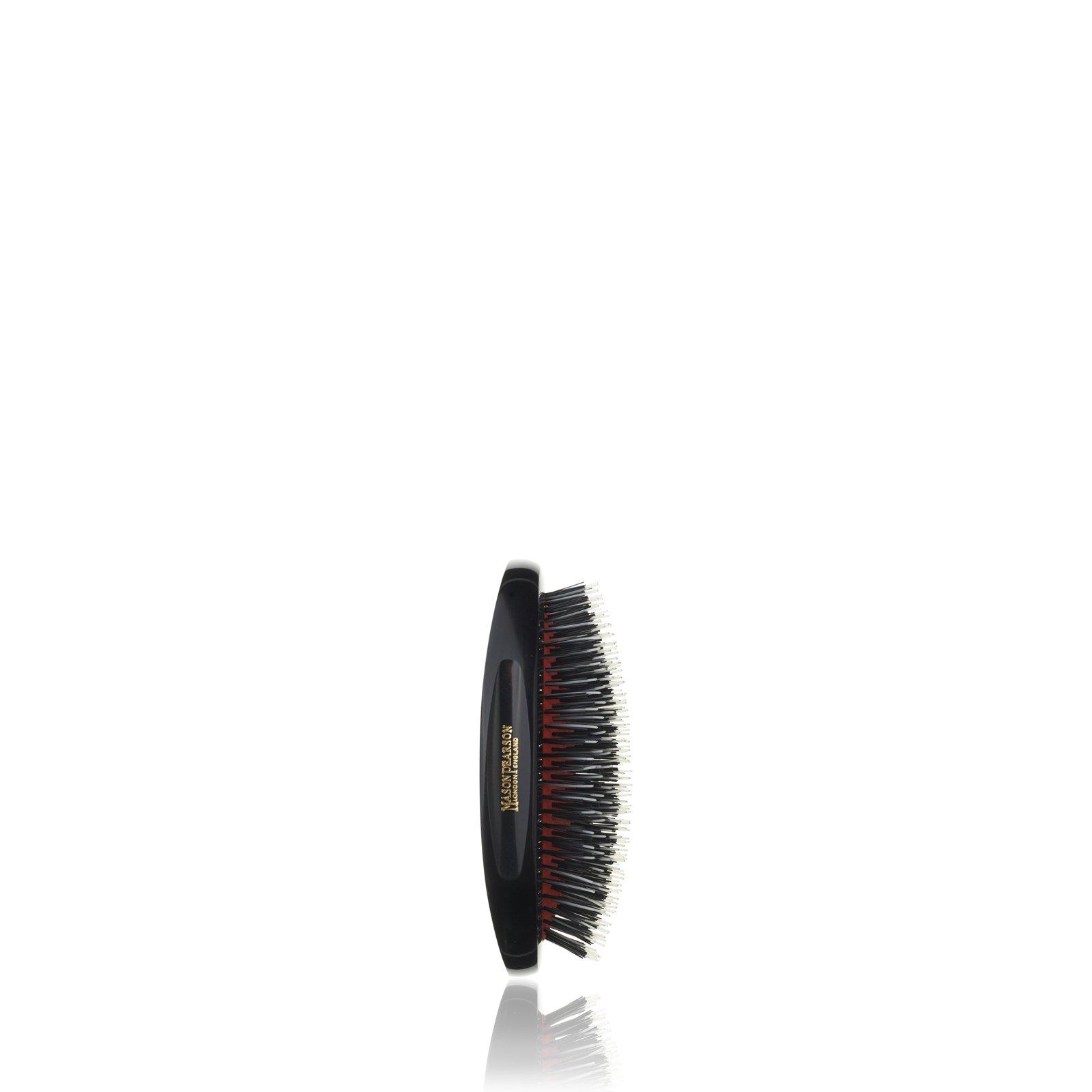 BN2M Junior Military Hairbrush from Mason Pearson (Dark ruby)