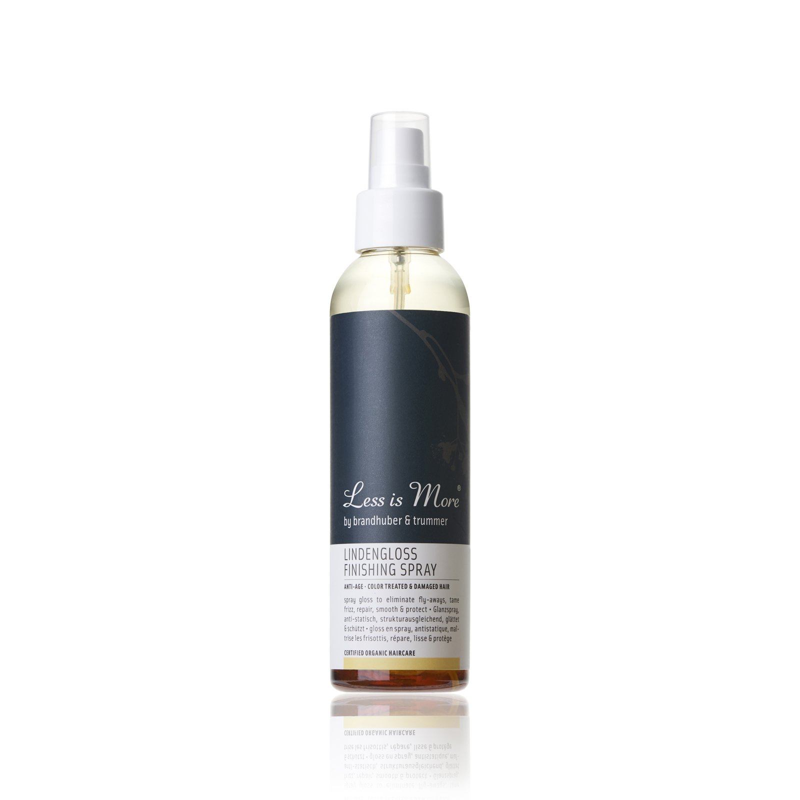 Lindengloss Finishing Spray from Less Is More