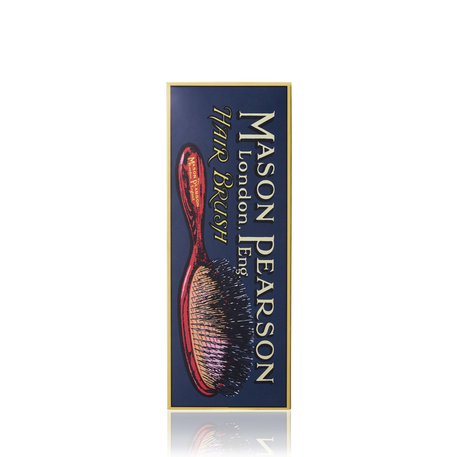B2 Small Extra Hairbrush from Mason Pearson (Dark Ruby)