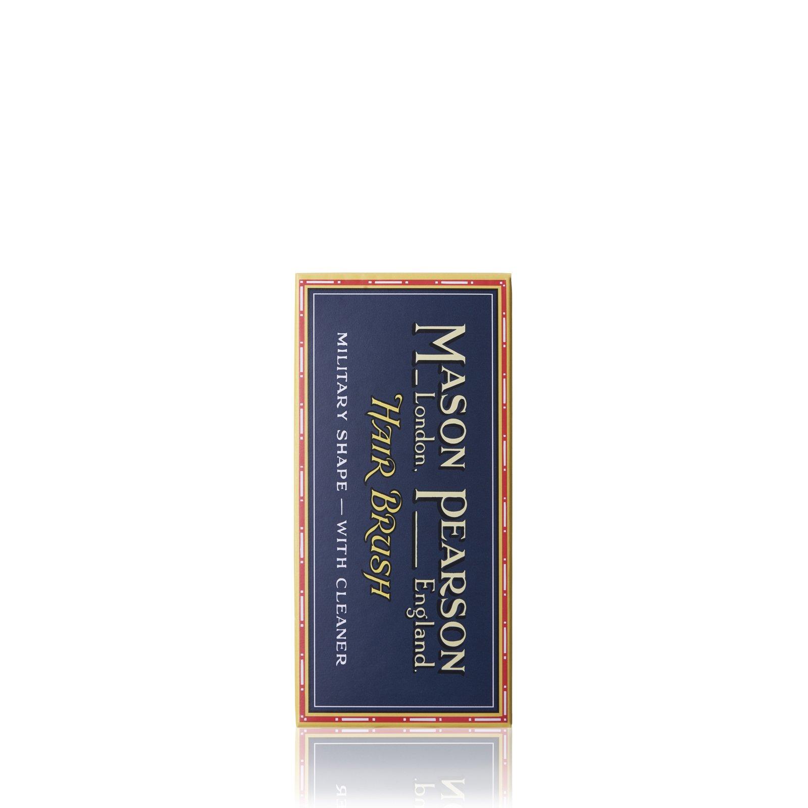 BN1M Popular Military Hairbrush from Mason Pearson (Dark ruby)